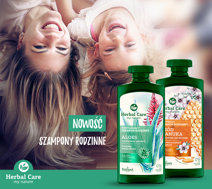 szampony herbal care