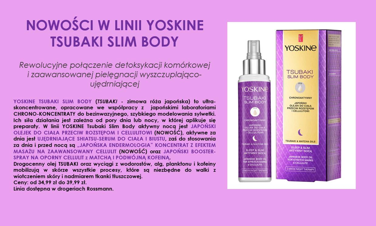 YOSKINE TSUBAKI wyspa-kobiet.pl