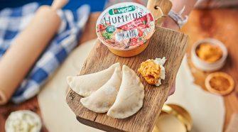 Hummus z papryką