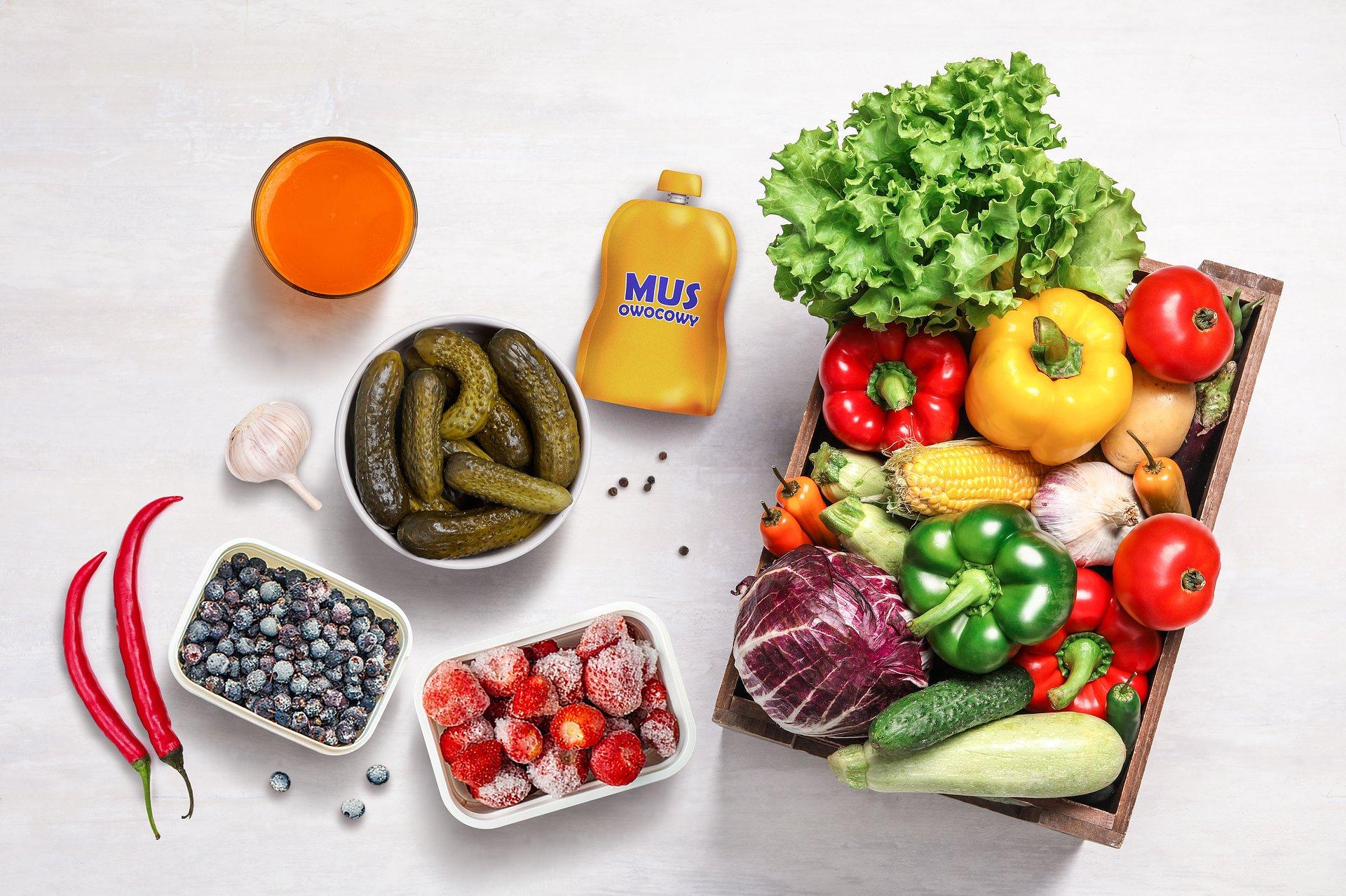 Sposoby na 5 porcji warzyw i owoców