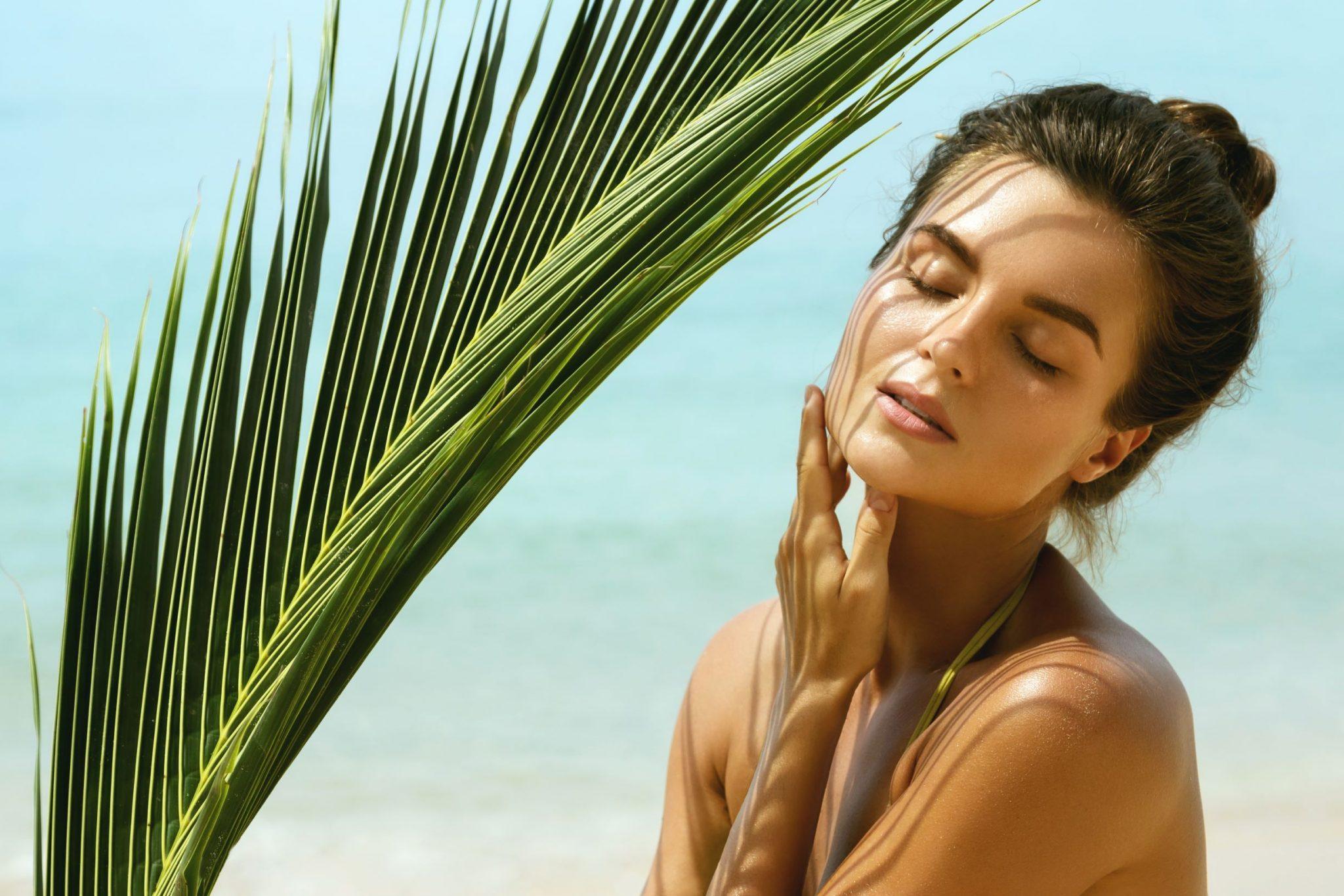 Ochrona przeciwsłoneczna wyspa kobiet
