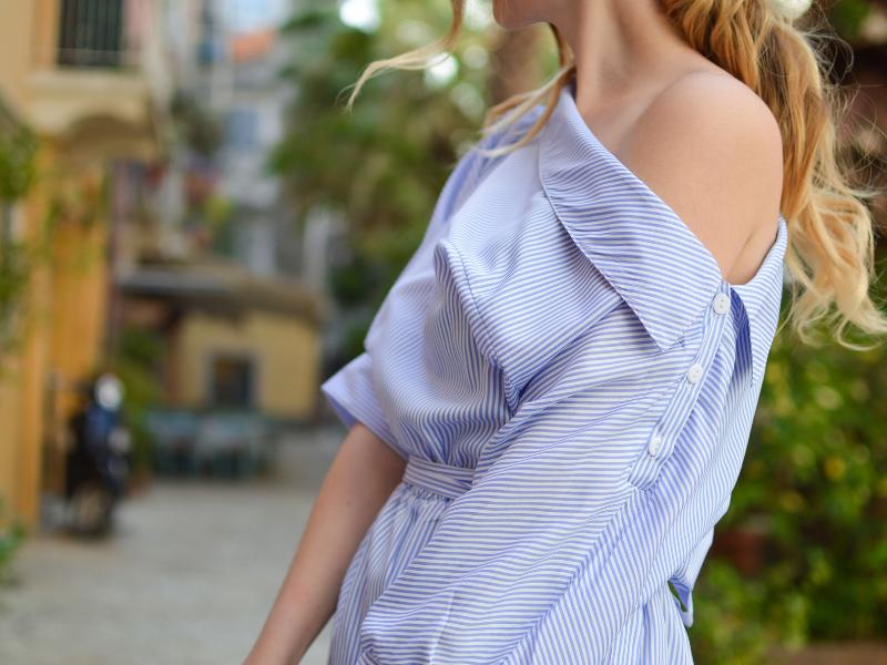 modne bluzki wyspa kobiet