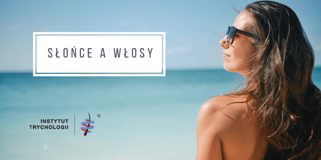 słońce rozjaśnia włosy wyspa kobiet