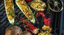 Grillowane warzywa z kaszą jaglaną wyspa kobiet