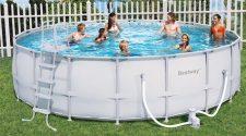 basen we własnym ogrodzie wyspa kobiet