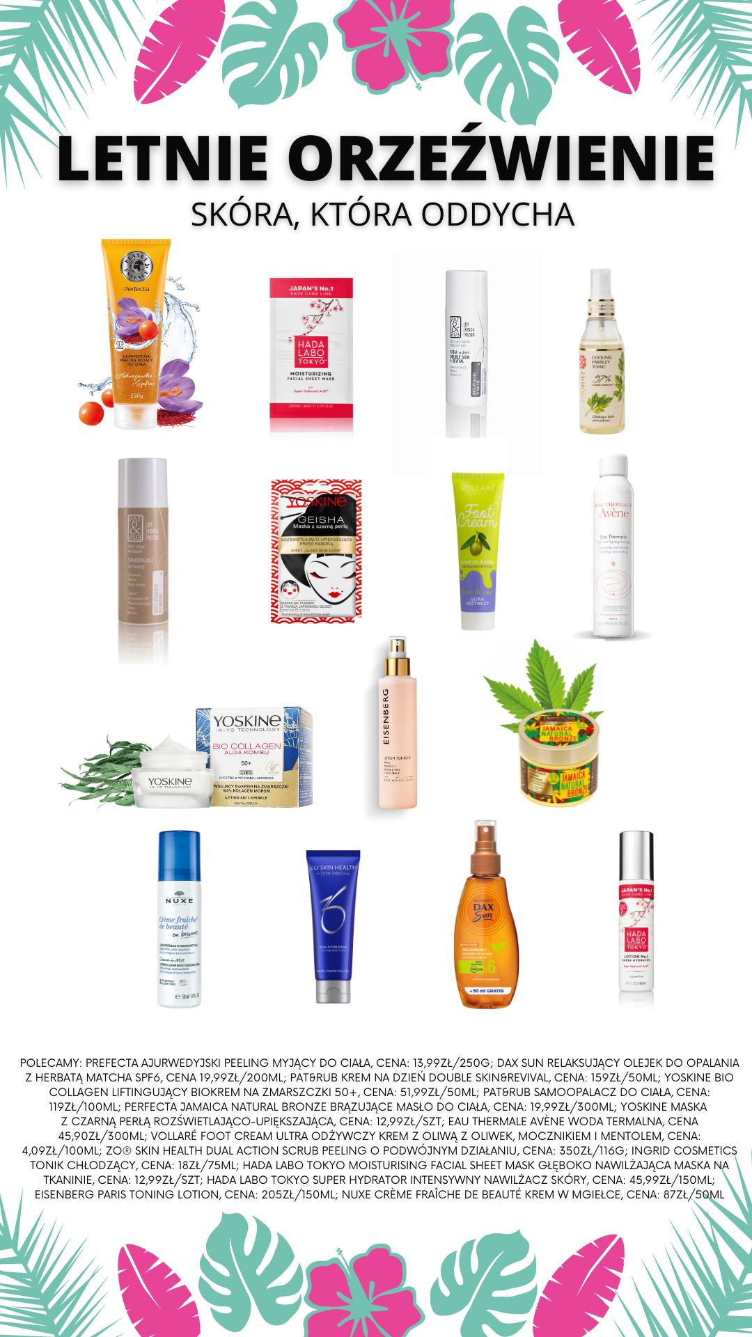 kosmetyki na lato wyspa kobiet