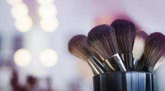 Pędzle do makijażu wyspa kobiet