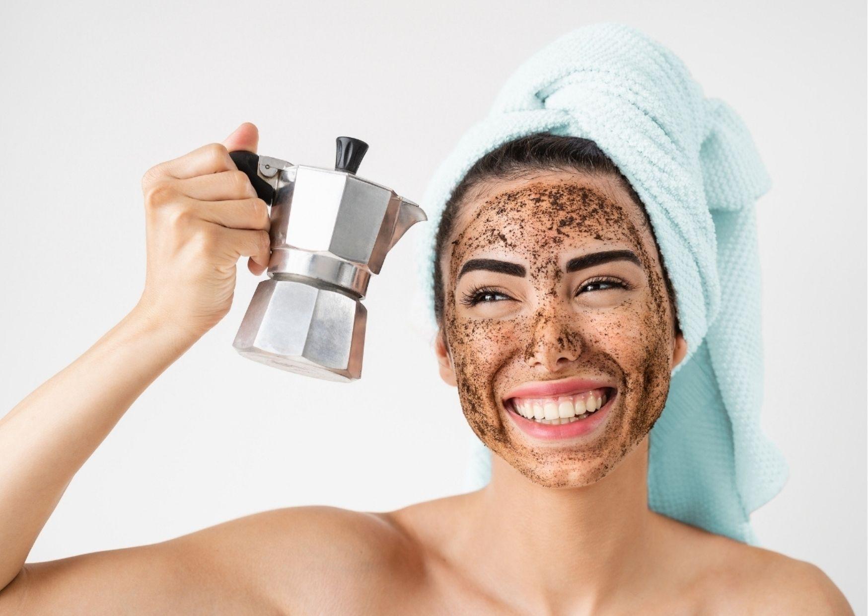 Kosmetyki z kofeiną wyspa kobiet