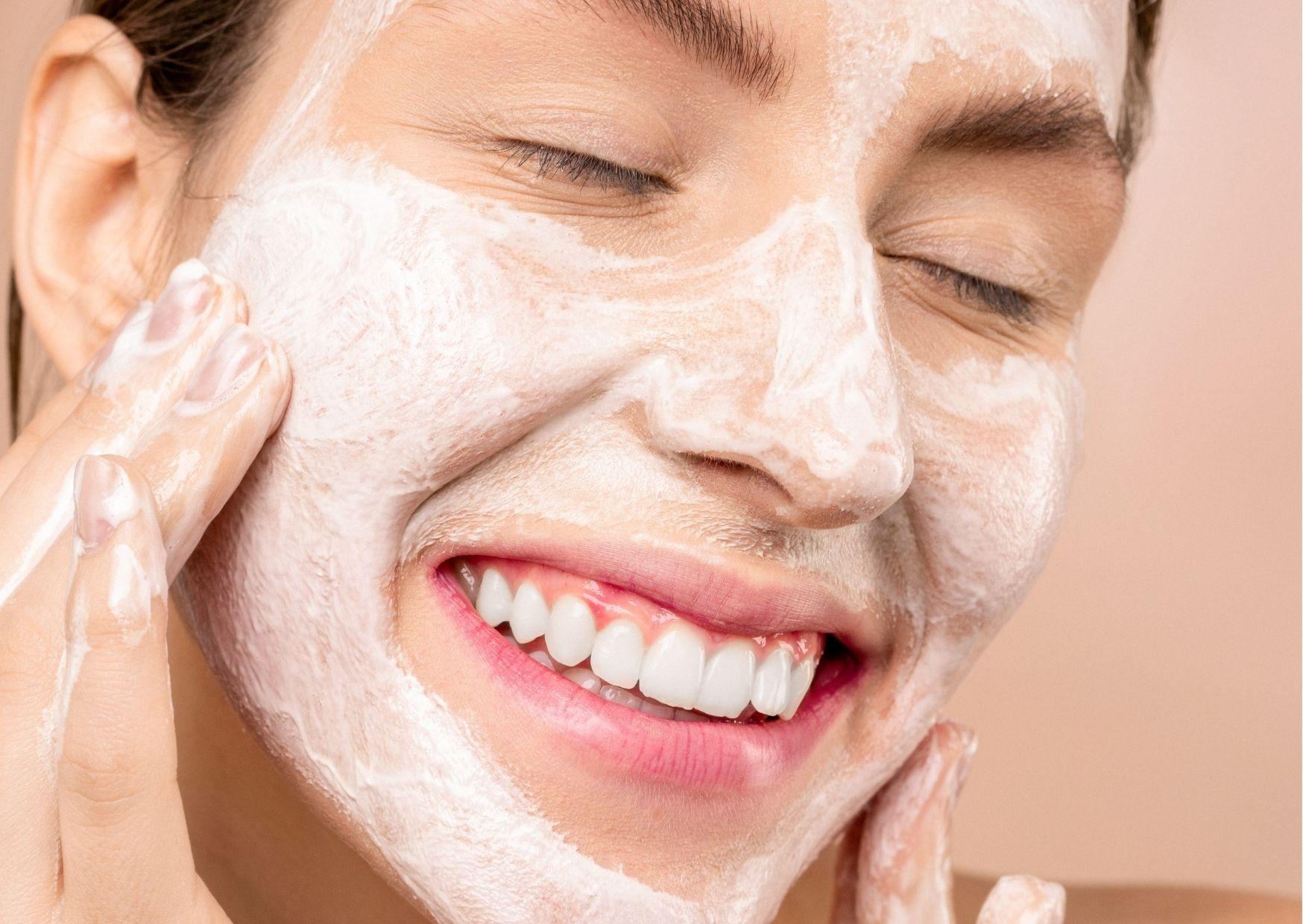 Złuszczanie skóry wyspa kobiet
