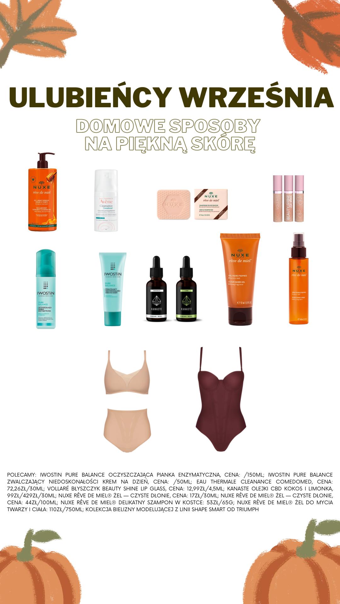 kosmetyki na jesień wyspa kobiet